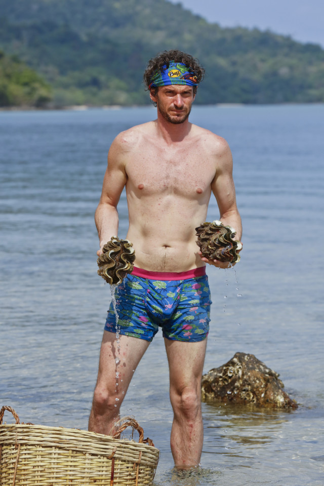 Neal Gottlieb at Brains beach on Survivor: Kaoh Rong