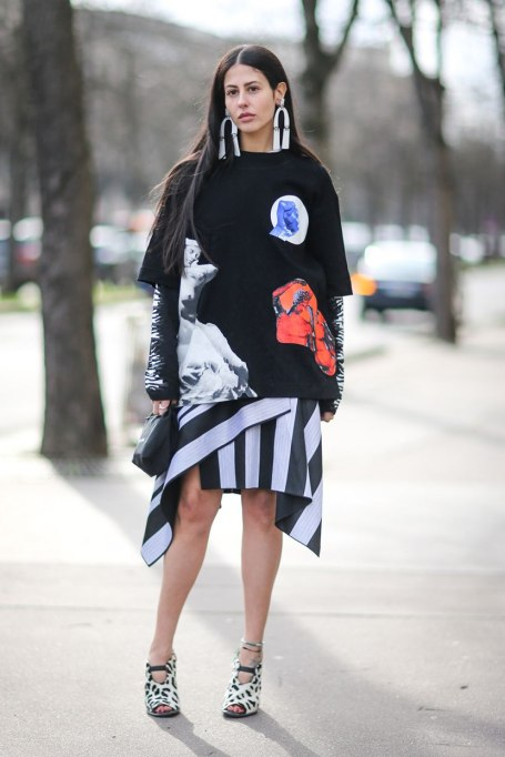 Ways To Wear Graphic Prints: Print All Over   Fall Fashion