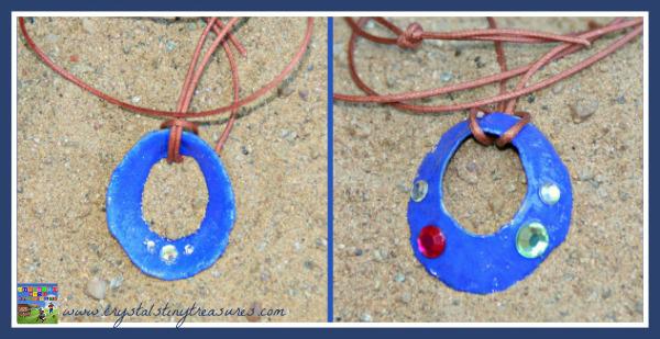 Seashell necklace craft | Sheknows.com