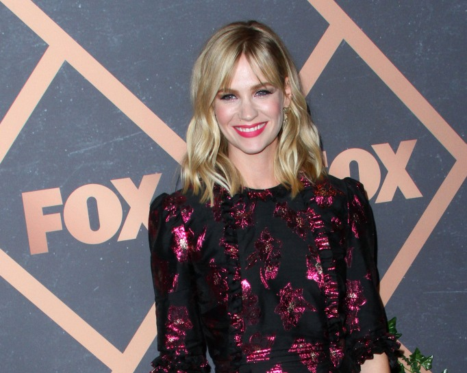 January Jones at the Fox Fall Premiere Party
