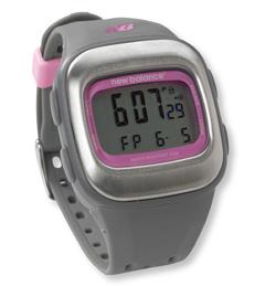 New Balance HRT Fit Komen Stainless Steel Heart Rate Monitor Digital Watch