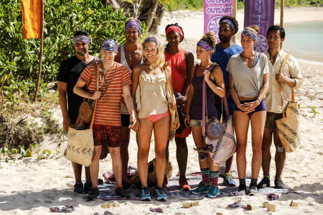 New Naviti tribe after swap on Survivor: Ghost Island