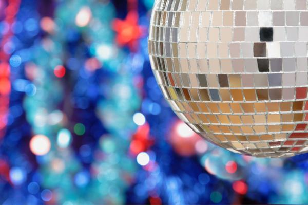 New Years Eve Disco Ball