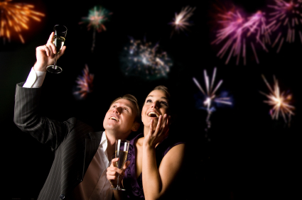 New Year's Eve Party Celebration