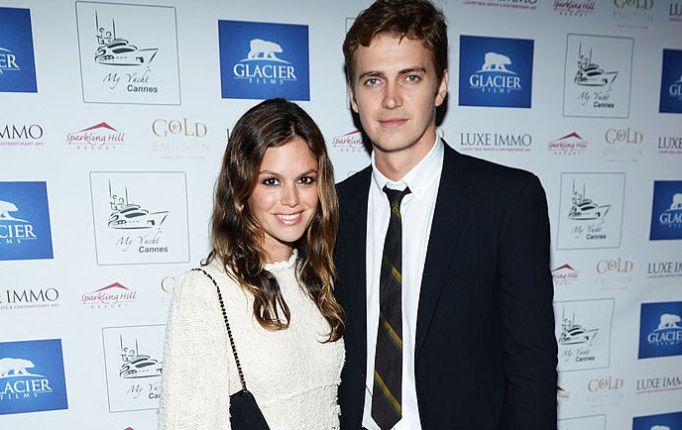Rachel Bilson and Hayden Christensen attend the Glacier Films launch party