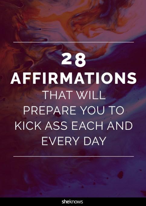 Affirmations for women Pinterest image