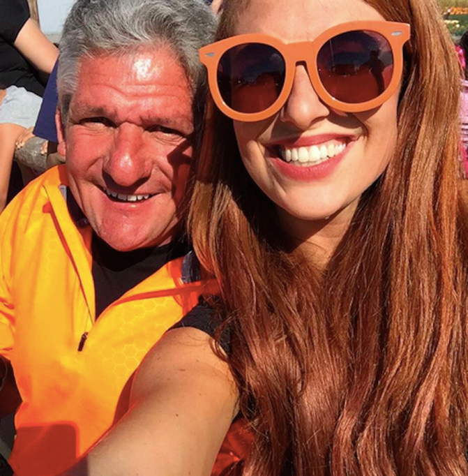 Matt Roloff with his daughter-in-law