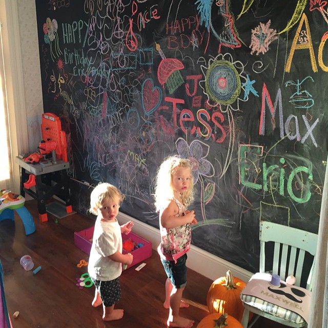 Jessica Simpson's family photos are totally beautiful: Ace and Maxwell create some art