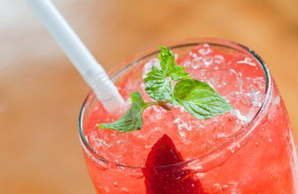 Strawberry soda recipe