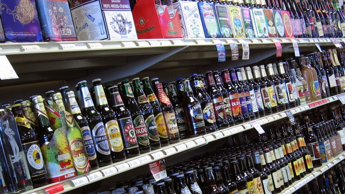 You can finally buy beer in