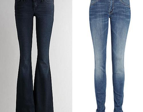 Best fall denim trends for rectangle-shaped