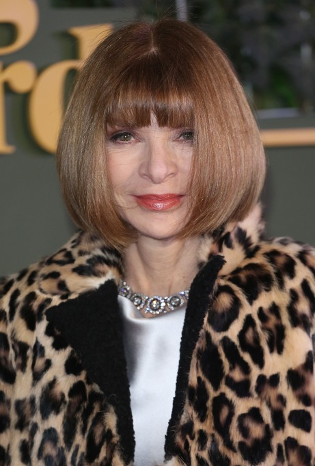 Anna Wintour short hairstyle