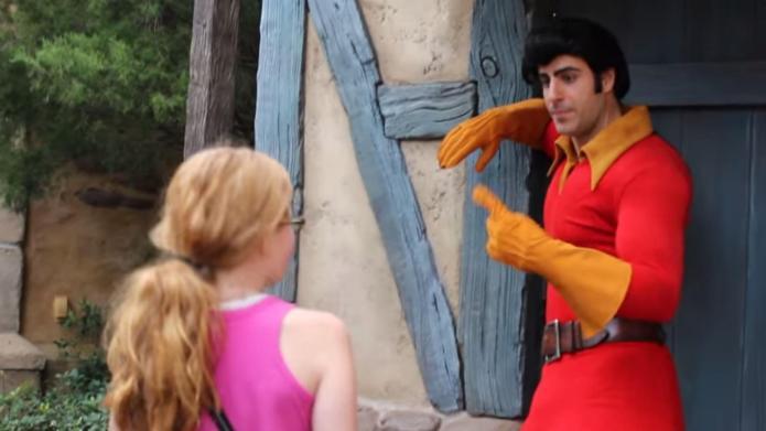 15 Super-sexist things Disneyland's Gaston says