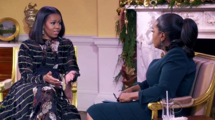 Michelle Obama tells Oprah the sound