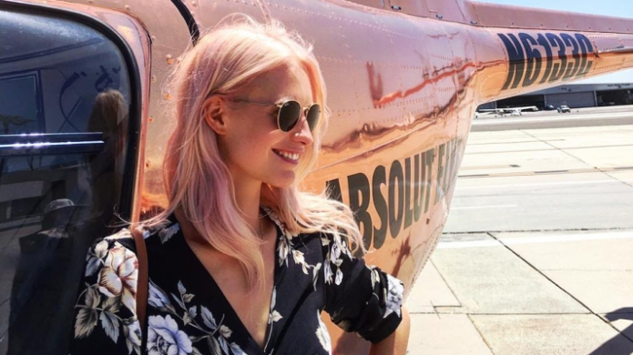 How to Get the Rose-Gold Hair