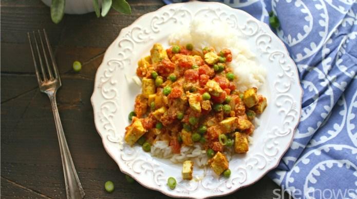Meatless Monday: Tofu tikka masala, no