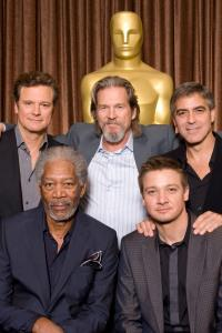 Oscar nominees gather for lunch