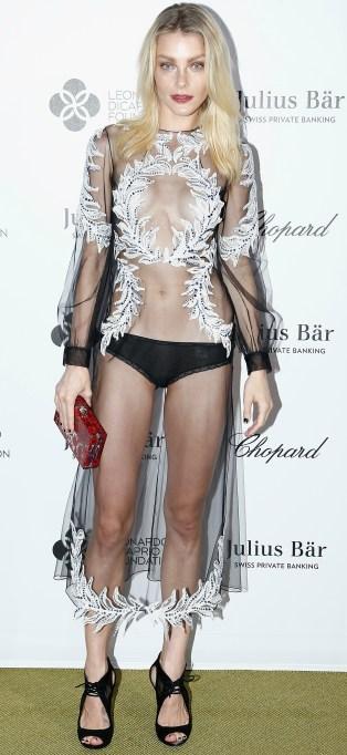 Jessica Stam naked dress