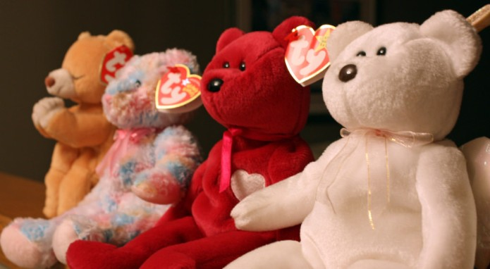 Bummer, your mint-condition Beanie Babies probably