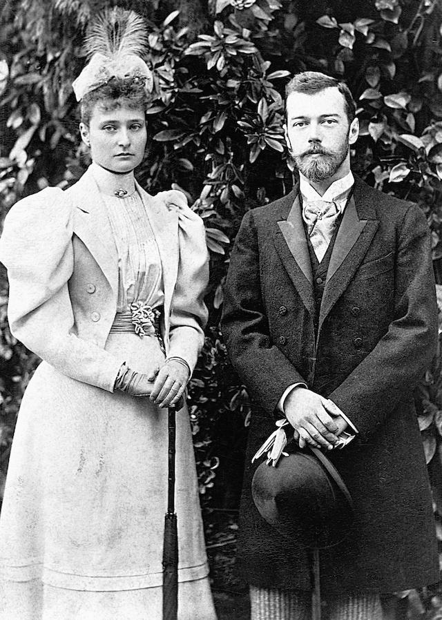 Tsar Nicholas Tsarina Alexandra Romanov