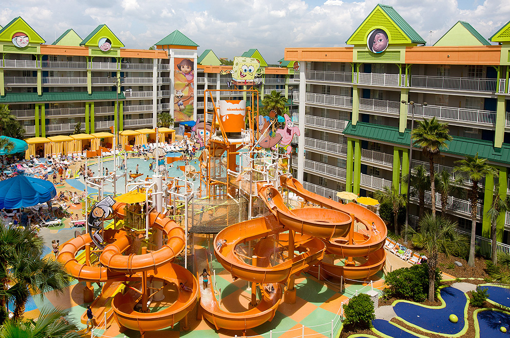 Nickeloden Suites Resort Water Park | Sheknows.com