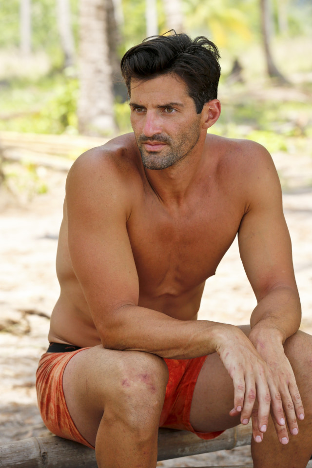 Nick Maiorano at Beauty camp on Survivor: Kaoh Rong