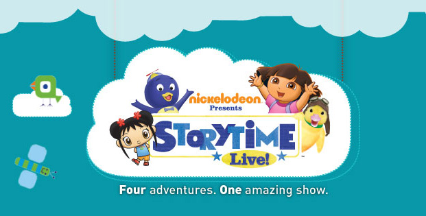Nickelodeon's Storytime Live tour schedule – SheKnows