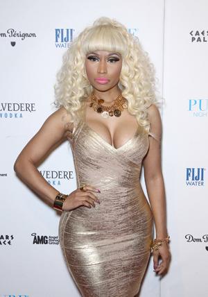 Nicki Minaj on New Year's Eve