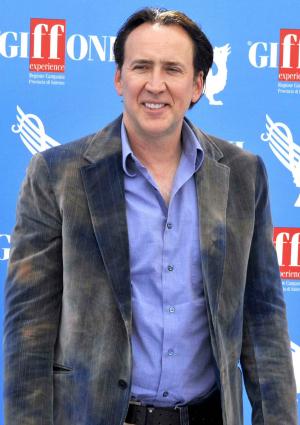 Nicolas Cage in Italy