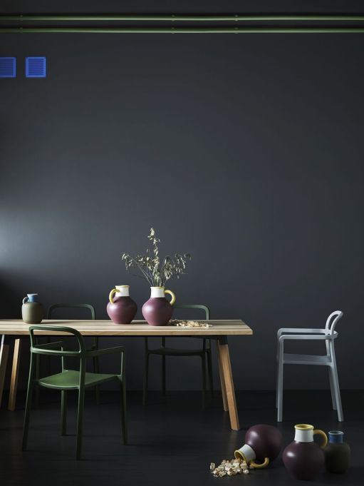 IKEA YPPERLIG: Furnish your dining room with a wooden table and chairs from the collection.