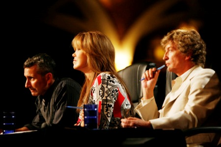 Adam Shankman, Mary Murphy and Nigel Lythgoe anchor the SYTYCD judges table