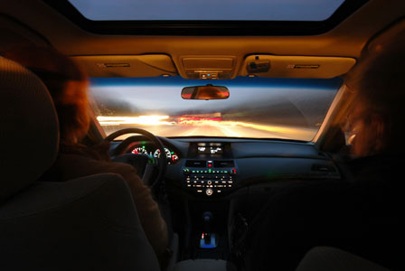 Driving after dark