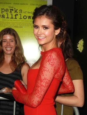 Nina Dobrev stars in <em>The Vampire Diaries</em>
