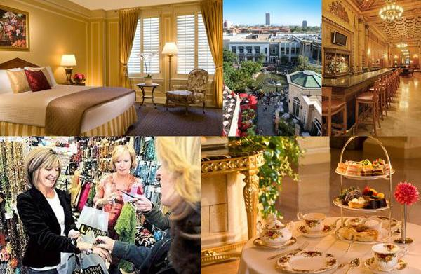 Holiday travel: Hotels with shopping incentives