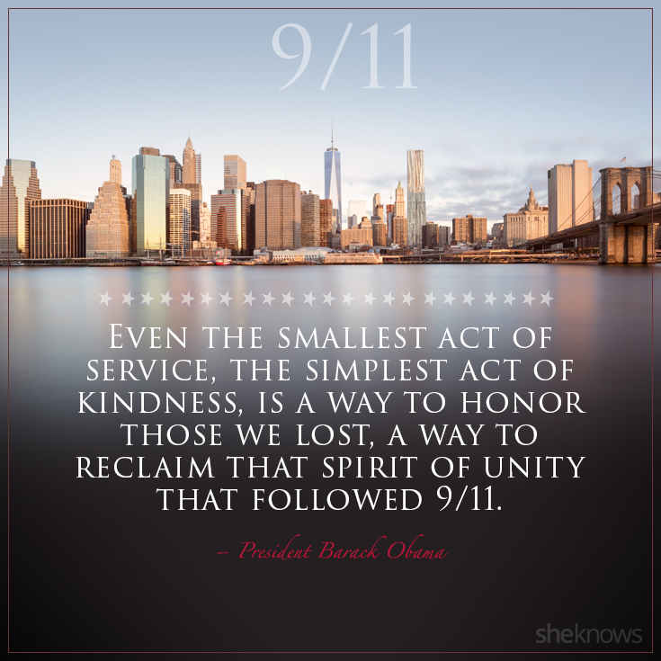 The 9/11 quotes that we'll never forget – SheKnows