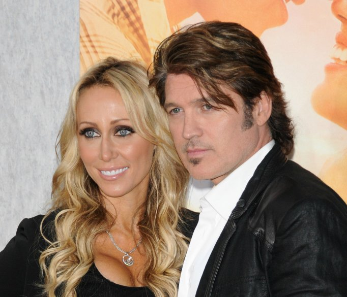 Tish and Billy Ray Cyrus