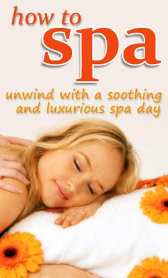 """How to """"spa"""