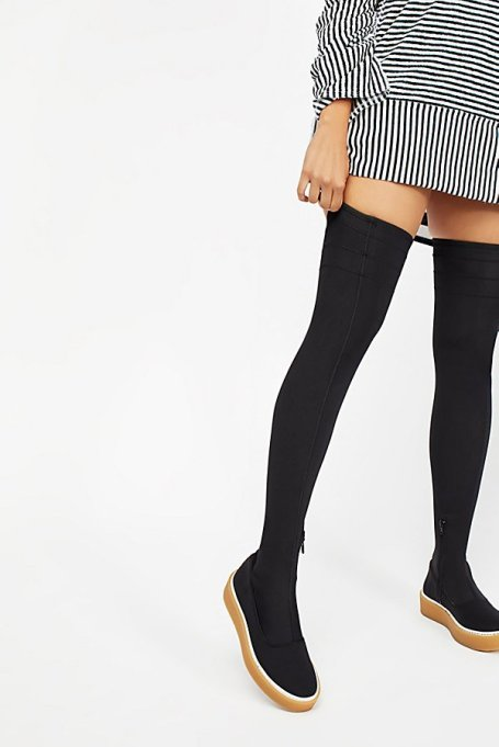 Best Pairs of Over-the-Knee Boots: Outer Limits Stretch Boot | Fall and Winter Fashion 2017