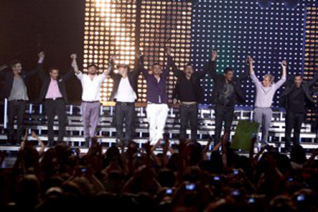 Backstreet Boys and New Kids on the Block announce joint tour