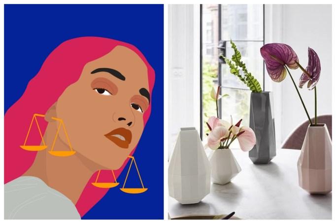 Libra: Adorable mini geometric vases