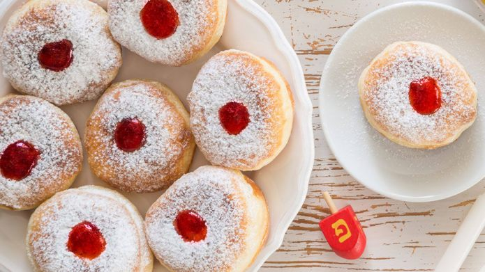 How to make sufganiyot, Hanukkah's jelly