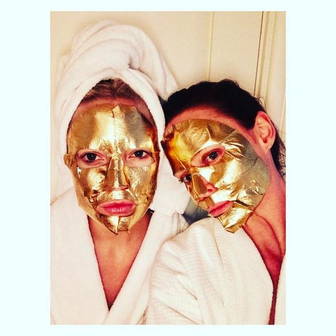 A.H.C. Premium Hydra Gold Foil Masks