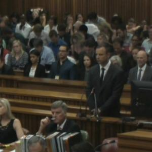 Oscar Pistorius trial begins with dramatic