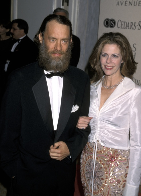 Tom Hanks and Rita Wilson at the Cedars Sinai Woman of Courage Awards
