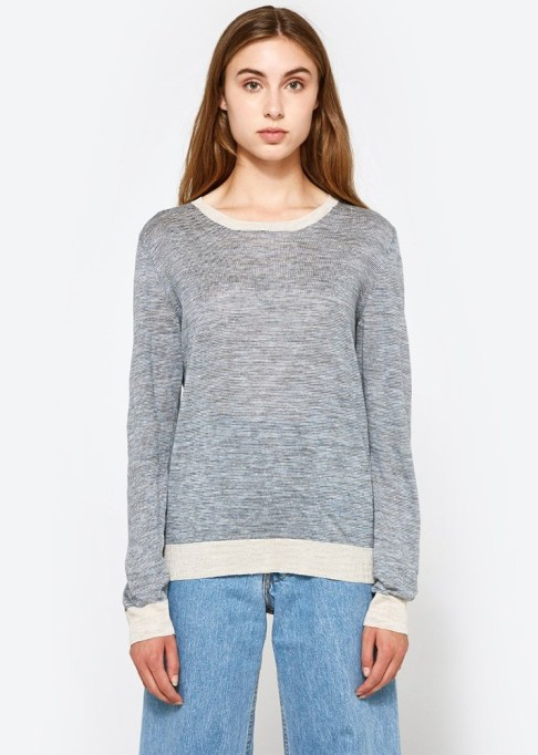 Summer Sweaters: A.P.C. Westward Sweater | Summer fashion 2017