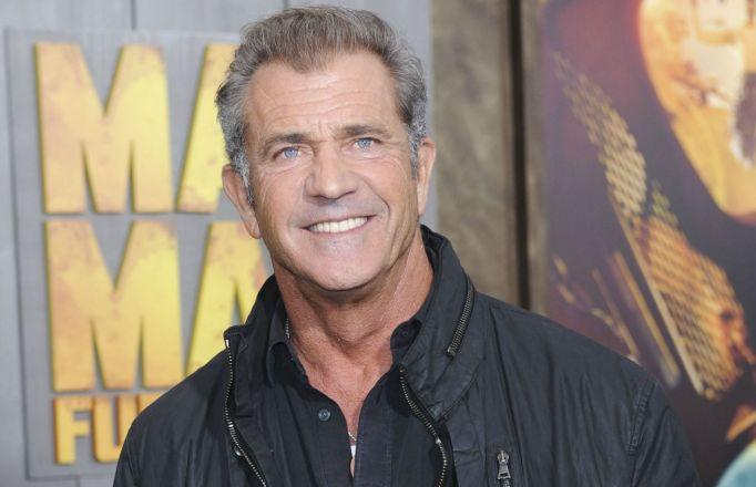 Mel Gibson on red carpet