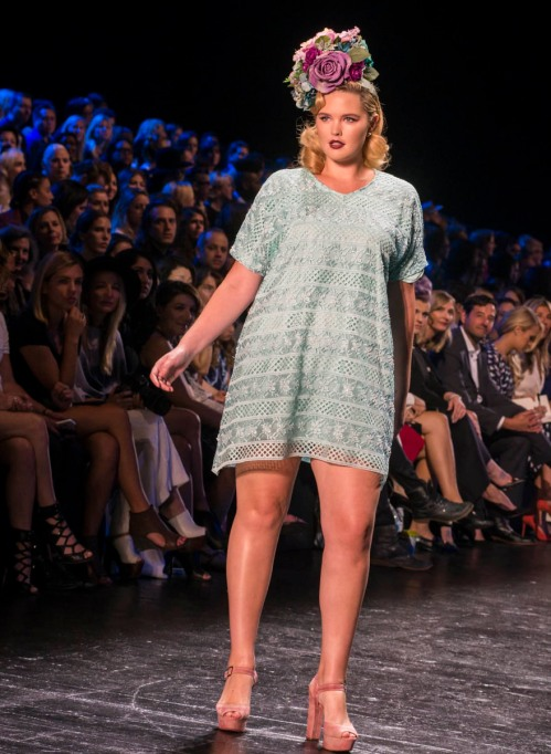Project Runway shirtdress