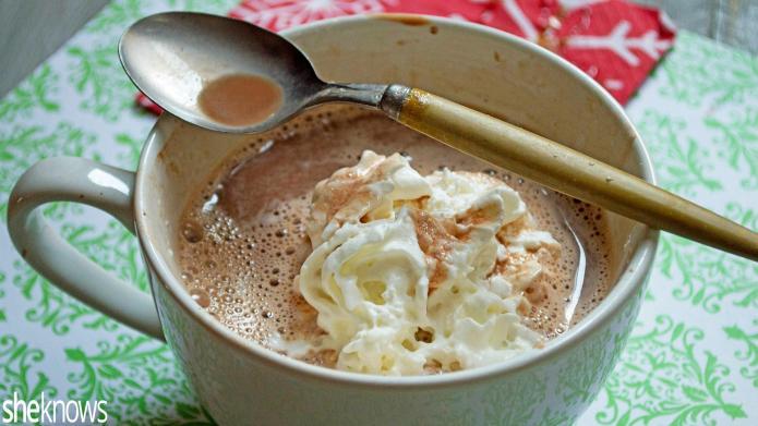 Vegan hot chocolate is here to
