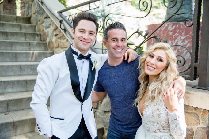 Celebrity Weddings Emma Slater Sasha Farber