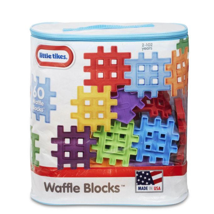 Holiday Gifts for Every Age: Little Tikes Waffle Blocks | 2017 Holiday Gift Guide